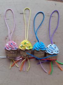 Gelukspoppetje cupcake