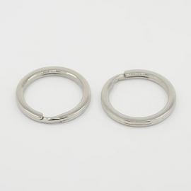 Metalen sleutelhanger ring (klein)