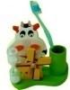 Tandenborstelhouder koe met molen