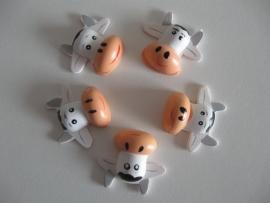 Plakfiguren koe