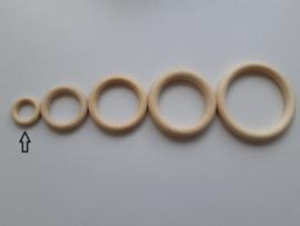 Ring hout 34 mm x 7 mm - beuken
