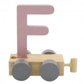 Treinletter F roze