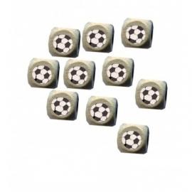 Houten letterkraal voetbal