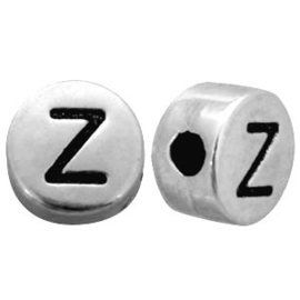 Metal look letterkraal Z