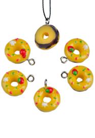 Kunststof hanger/bedel donut
