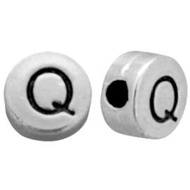Metal look letterkraal Q