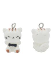 Kunststof hanger/bedel kat