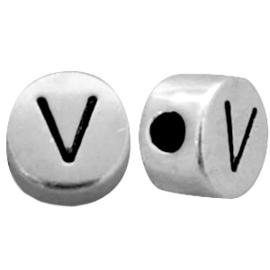 Metal look letterkraal V