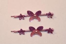 Haarschuifjes vlinder paars (18)