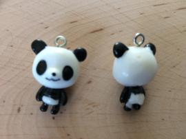Kunststof hanger/bedel panda