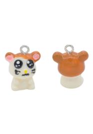 Kunststof hanger/bedel hamster