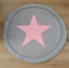 Boxkleed rond met grote ster