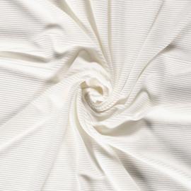 Rib velours off-white (051)