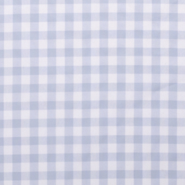 Boerenbont ruit lichtblauw (002)