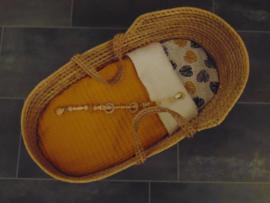 Dekentje grof wafelkatoen/teddykatoen 60  x 80 cm