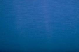Hydrofielstof uni kobaltblauw (005)