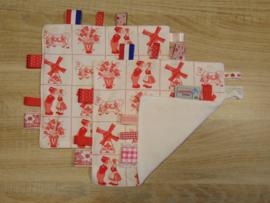 Labeldoekje Hollands rood