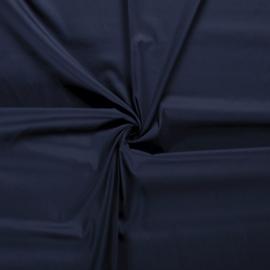 Uni katoen donkerblauw (008)