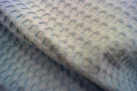 Wafelkatoen grof (2) lichtblauw (630)