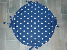 Boxkleed rond nicky velours/grote sterren