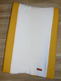 Aankleedkussenhoes grove wafelkatoen/badstof
