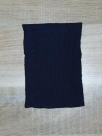 (V) Hydrofiel washandje pop donkerblauw