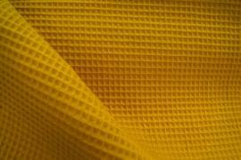 Boxkleed rond teddy katoen / wafelkatoen