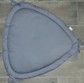 Boxkleed driehoek uni katoen 100 cm