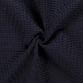 Wafelkatoen donkerblauw (008)
