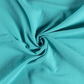 Hydrofielstof uni turquoise (004)