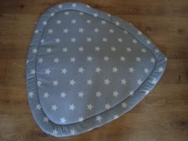Boxkleed driehoek grote sterren 100 cm