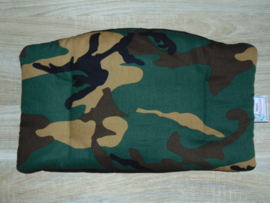 Stokke Tripp Trapp zitkussen legerprint groen/bruin/zwart