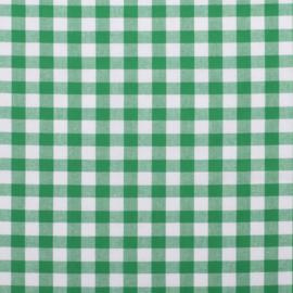 Boerenbont ruit groen (025)