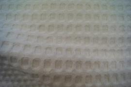 Wafelkatoen grof (2) off-white (020)