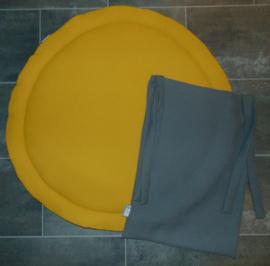 Boxkleed - boxzak - aankleedkussenhoes wafelkatoen