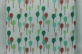 Geplastificeerd katoen balonnen multi