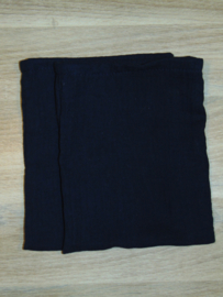 (V) Hydrofiele washandjes set van 2 stuks donkerblauw
