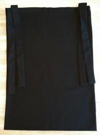 (V) Boxzak canvas zwart