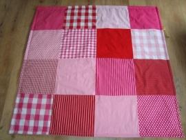 Speelkleed roze/rood/fuchsia