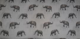 Hydrofielstof olifant off-white