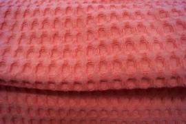 Wafelkatoen grof (2) koraal (536)