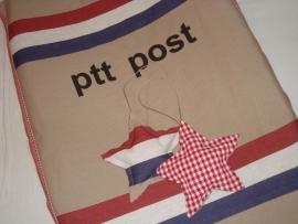 Aankleedkussenhoes PTT stof