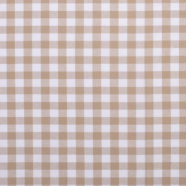 Boerenbont ruit beige (053)