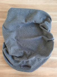 Wipstoelhoes Beaba tricot diamond donkergrijs