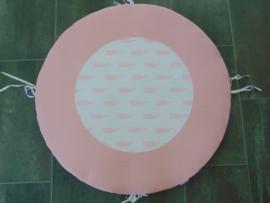 Boxkleed walvis roze/wit