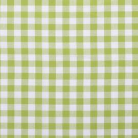 Boerenbont ruit limegroen (024)