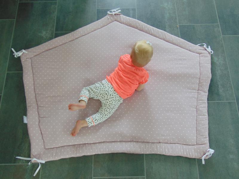 Speelkleed tipi-tent 5-hoek