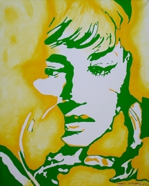 Nieuw schilderij Portret 80 x 100 cm