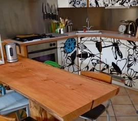 """Nieuw--Natuur hout  eettafel of salon tafel """"""""vanaf """""""" 750 euro"""