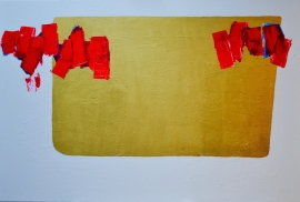 Nieuw - Schilderij golden yaers